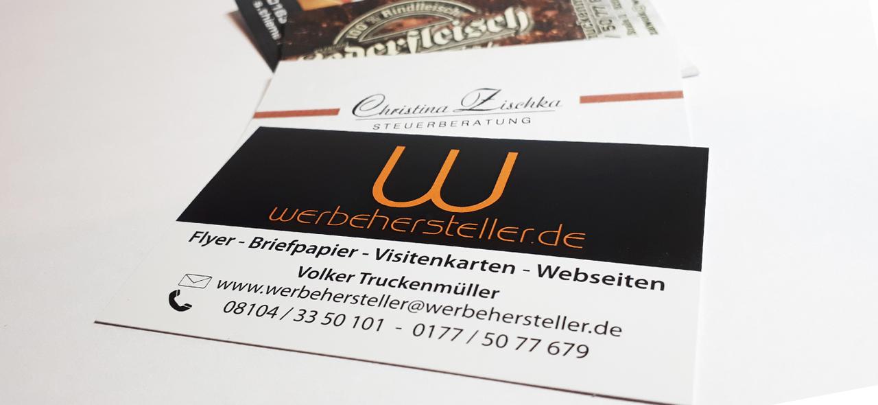 Visitenkarten, www.werbehersteller.de